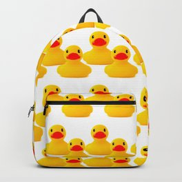 Rubber Duck Pattern Backpack