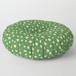 Tiki Birds Ice Cream Date Floor Pillow