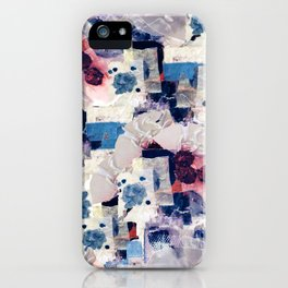 patchy collage iPhone Case