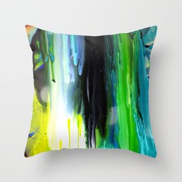 BLUEFIRE Throw Pillow