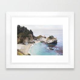 McWay Falls in Big Sur Framed Art Print