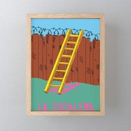 La Escalera Framed Mini Art Print