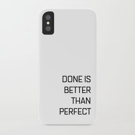 Quote of the day N1 iPhone Case
