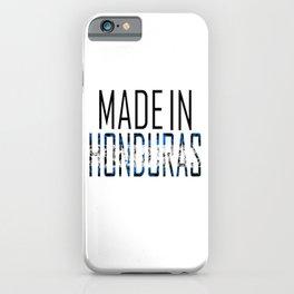 Made In Honduras iPhone Case