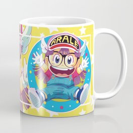 Dr Slump & Arale Coffee Mug