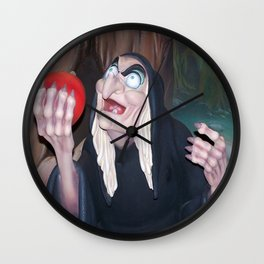 Evil Queen Hag Wall Clock