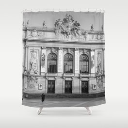 Opéra de Lille, France Shower Curtain