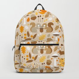 forest in fall Backpack