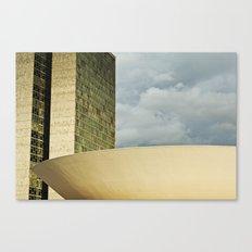 Brasilia, Brazil Architecture Canvas Print