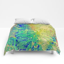 Fern and Fireweed 01 Comforters
