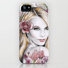 Floral Karlie iPhone Case