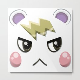 Animal Crossing Marshall Metal Print