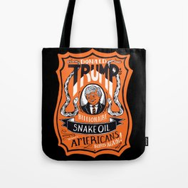 Snake Oil Tote Bag