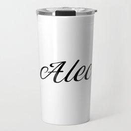 Name Alec Travel Mug