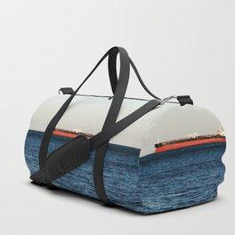 Cargo Ship Seascape Duffle Bag