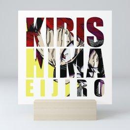 Kirishima in Impact Mini Art Print