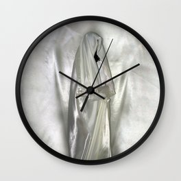 "say no to patriarchy / ""the nun"" Wall Clock"