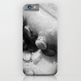 Still life, Octopus limbs, Black & white, macro photo, kitchen decor, sea life, fish restaurant iPhone Case