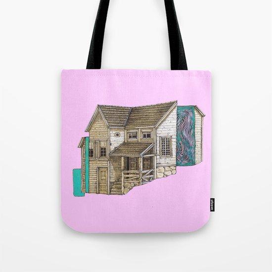 house2 Tote Bag