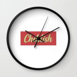 TGFBro Childish Wall Clock