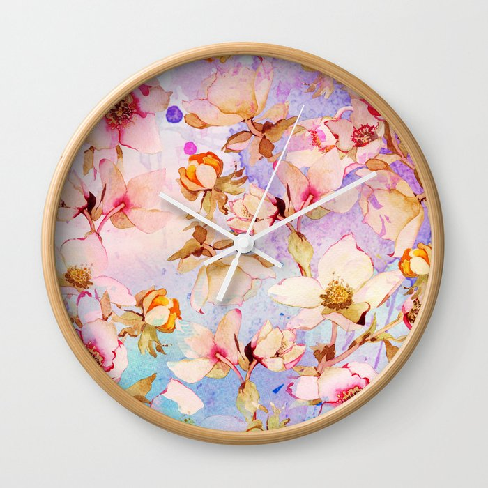 sweet romance Wall Clock