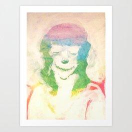 portrait of the artist as a demon Art Print