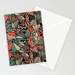 Paperfolds in Vintage Candy Colorway    All-over Pattern Stationery Cards