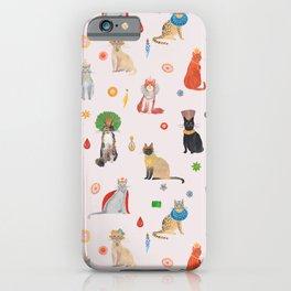 Cat Queens iPhone Case