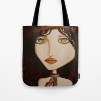 model Tote Bags featuring model by Gabriele Perici