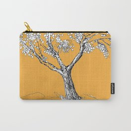 Tree and parrot Carry-All Pouch