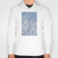 frozen Hoodies featuring Frozen by Iveta S.