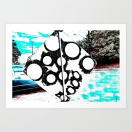Overated/Underdone Art Print