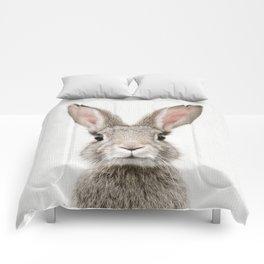 Bunny Portrait Comforters