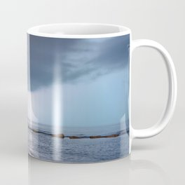 Lightning in an apprently quiet atmosphere Coffee Mug
