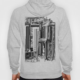 Abstract City #2 Hoody