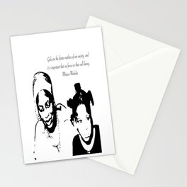 Miriam Makeba Stationery Cards