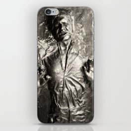 Han Solo carbonite iPhone Skin