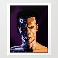 arnold Art Prints featuring Arnold by Johan Malm