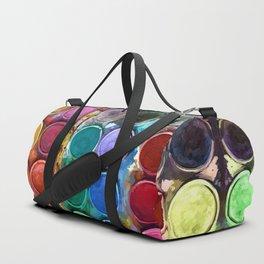 Pallet Abstract Art Duffle Bag