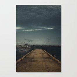 The Drop Off Canvas Print