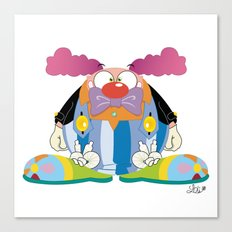 Big clown Canvas Print