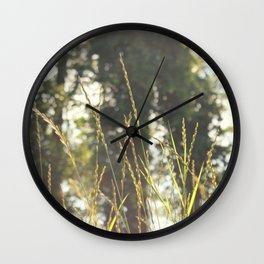meadow. Wall Clock