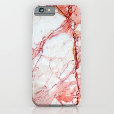 Pink Marble Slim Case iPhone 6s