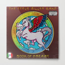 Book_Dreams_SteveMiller Metal Print