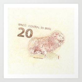 20 Reales Art Print