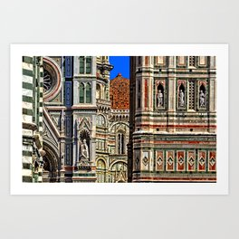 Renaissance Architecture in Florence Art Print