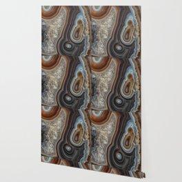 Mocha swirl Agate Wallpaper