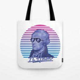Vintage Retro Alexander Hamilton Musical Funny Patriotic Gift Tote Bag