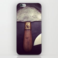 Leather Tools iPhone & iPod Skin
