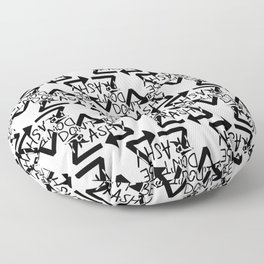 Save Our Planet Floor Pillow